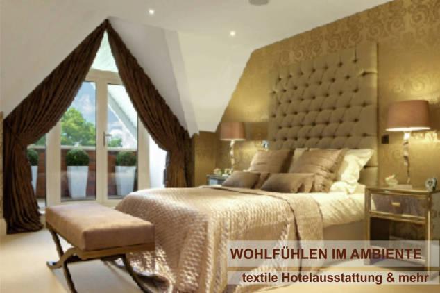 Hotel, Ausstattung, Textile
